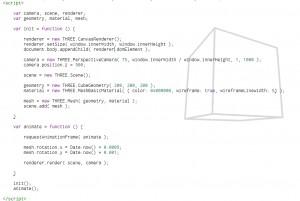 Three.js HTML Editor